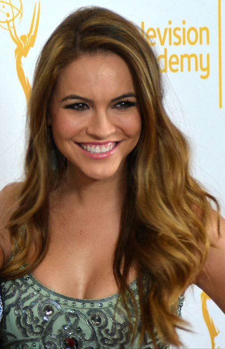 Chrishell Stause at 2014 Daytime Emmy Awards Nominees Cocktail Reception