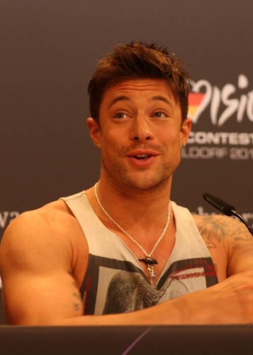 Duncan James during an event in May 2011