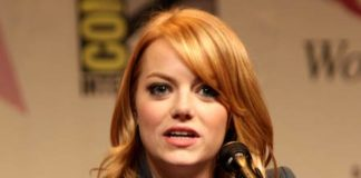 Emma Stone during 2012 WonderCon in California