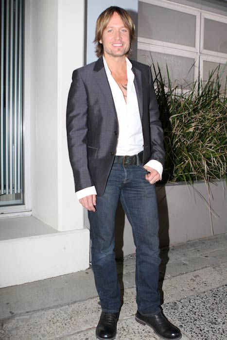 Keith Urban at Bondi Icebergs Dining Room and Bar in Sydney, Australia in May 2012