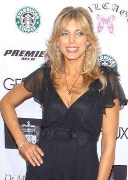 Marla Maples during an event in December 2007