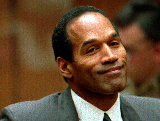 O.J. Simpson as seen in an old file picture