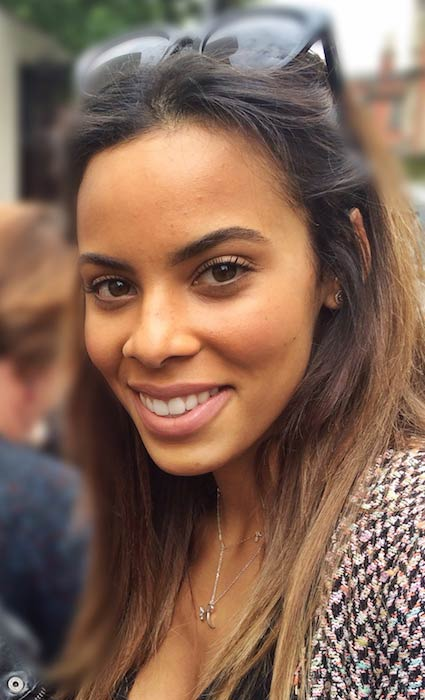 Rochelle Humes in a selfie with photographer Sarah Winterman in 2014