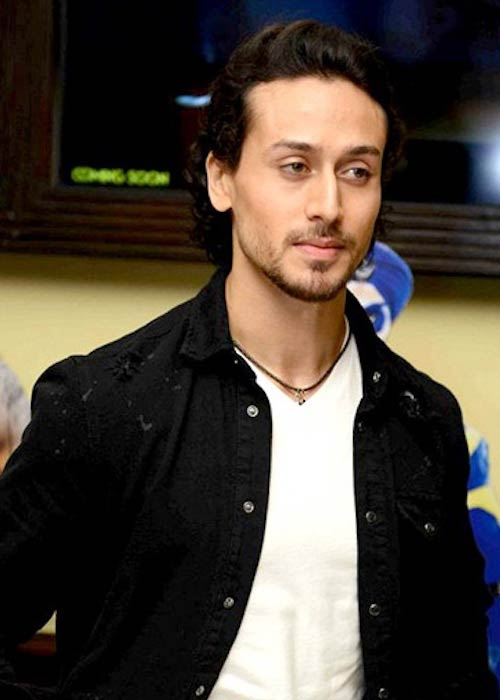 Tiger Shroff during the promotional event of 'A Flying Jatt' in August 2016
