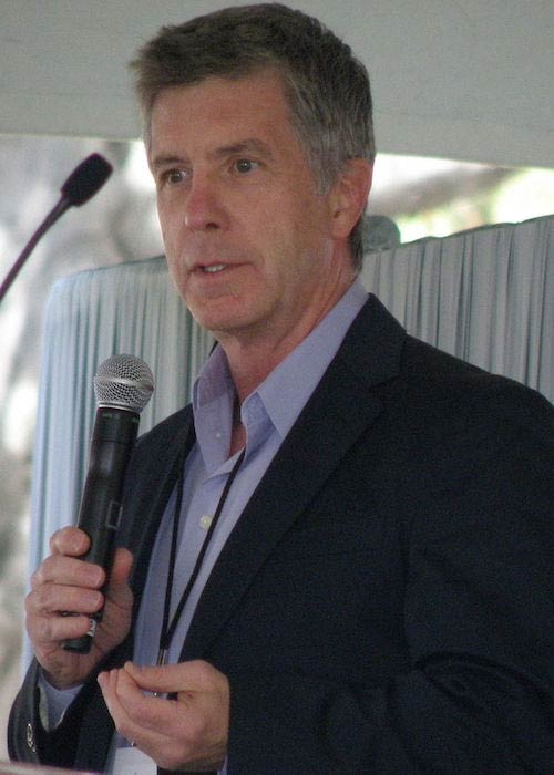 Tom Bergeron during the Los Angeles Times Festival of Books in 2009