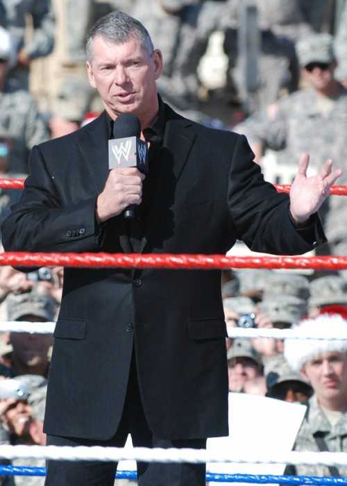 Vince McMahon In 2008