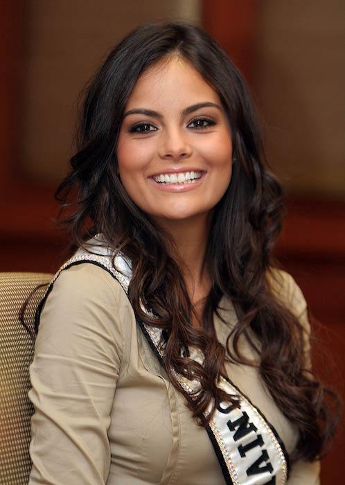 Ximena Navarrete when she won Miss Universe 2010