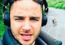 Adam Thomas Healthy Celeb