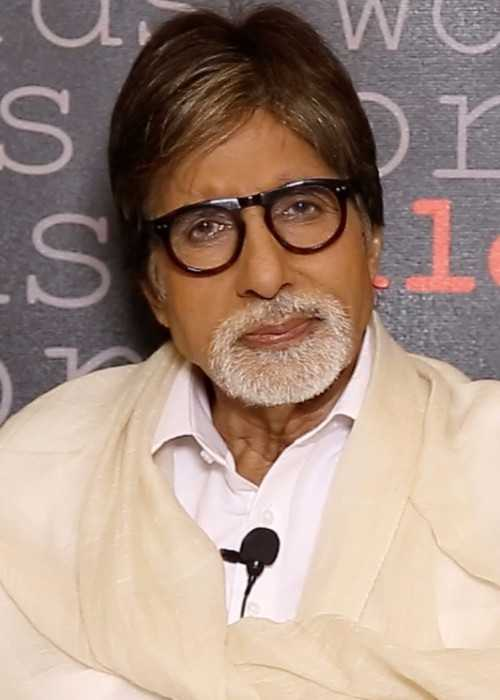 Amitabh Bachchan at the TeachAIDS Interview in December 2013