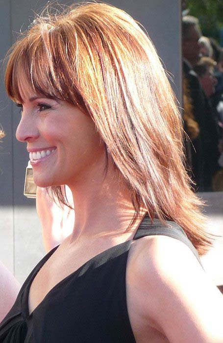 Andrea McLean at BAFTA's in 2009
