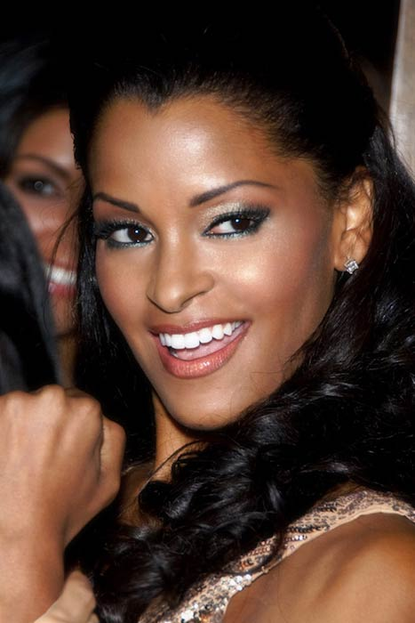 Claudia Jordan during her 35th Birthday Party in 2008