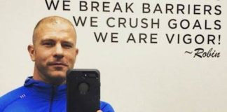 Drew Logan in an Instagram selfie in October 2017 Healthy Celeb