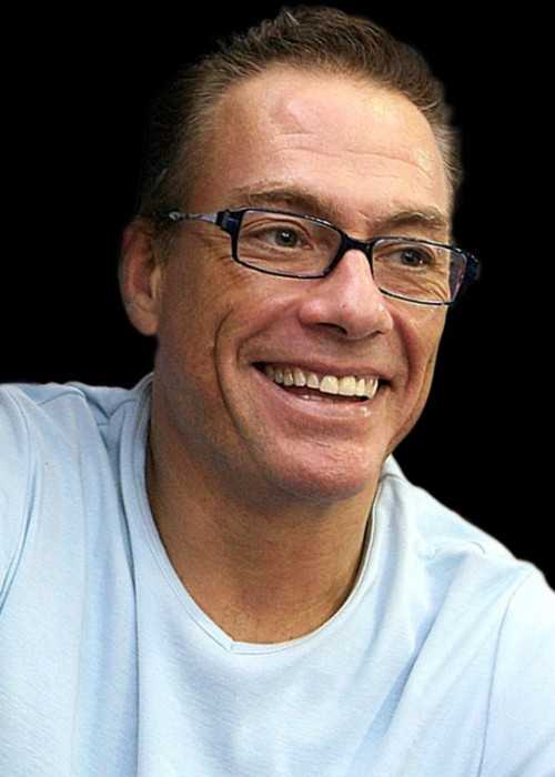 Jean Claude Van Damme at the Lackland Air Force Base in Texas in 2007