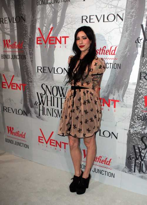 Jessica Origliasso at the Snow White and the Huntsman Movie Premiere in June 2012