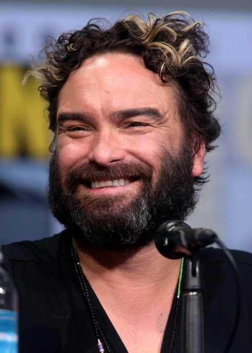 Johnny Galecki at the San Diego Comic Con International in 2017