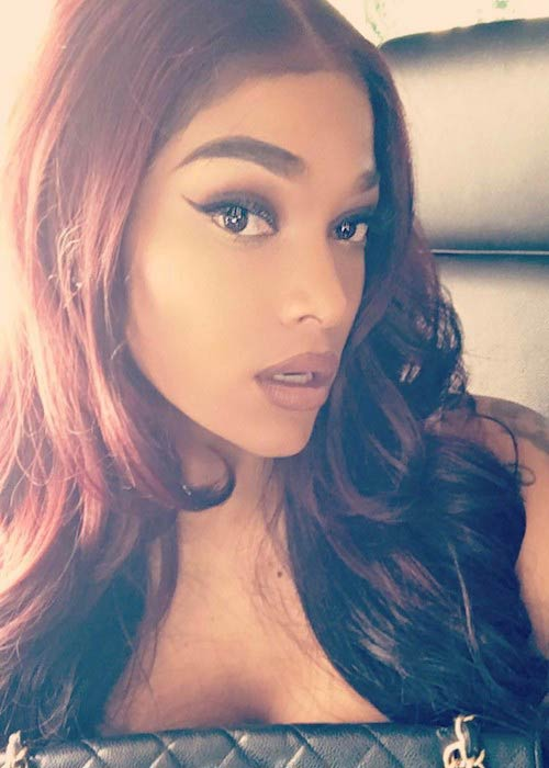 Joseline Hernandez in an Instagram selfie in April 2017