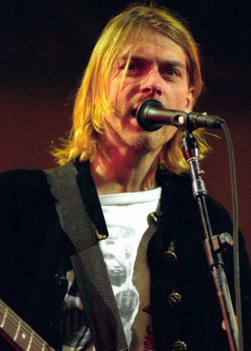 Kurt Cobain at Live and Loud in 1993