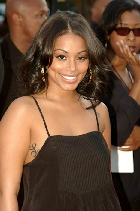 Lauren London at 2007 BET Hip Hop Awards