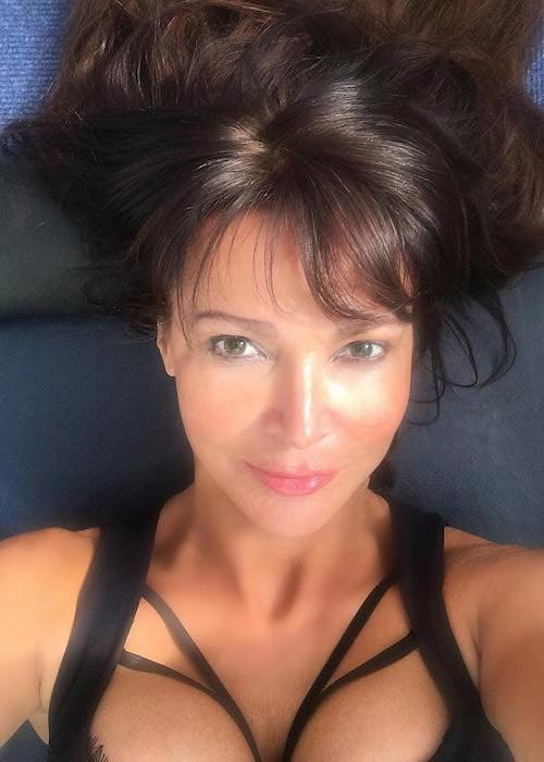 Lizzie Cundy in an Instagram selfie in September 2017