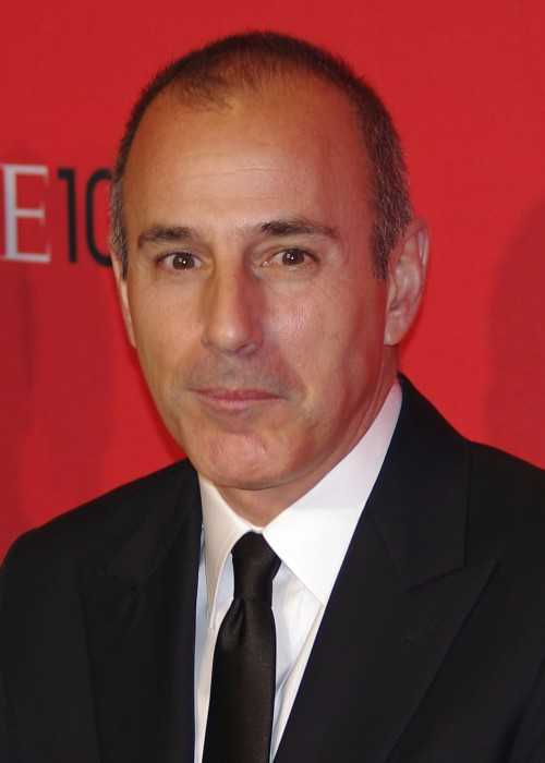 Matt Lauer at the 2012 Time 100 Gala