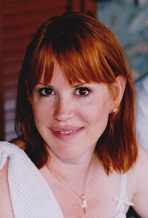 Molly Ringwald in Greece in 2010