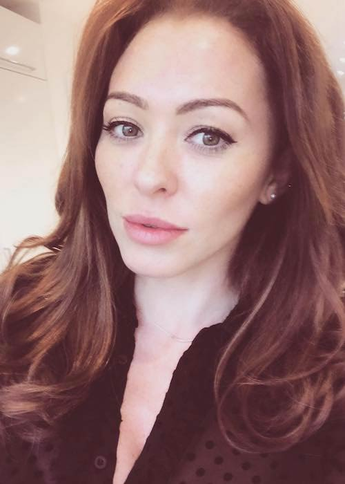 Natasha Hamilton in an Instagram selfie in September 2017