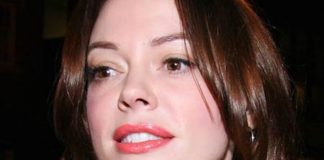 Rose McGowan Healthy Celeb