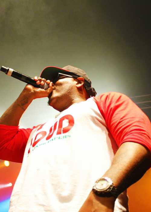 Sheek Louch at The Sound Academy in 2014