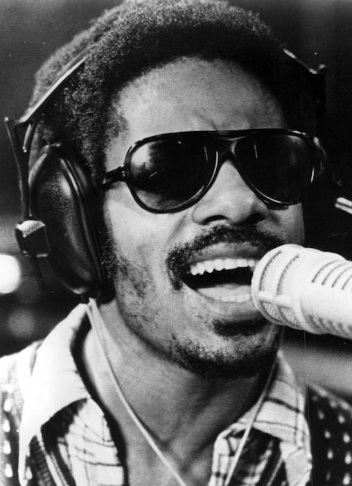 Stevie Wonder as seen in 1973