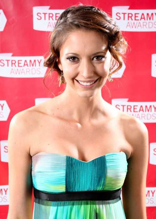 Taryn Southern at the First Streamy Awards in 2009