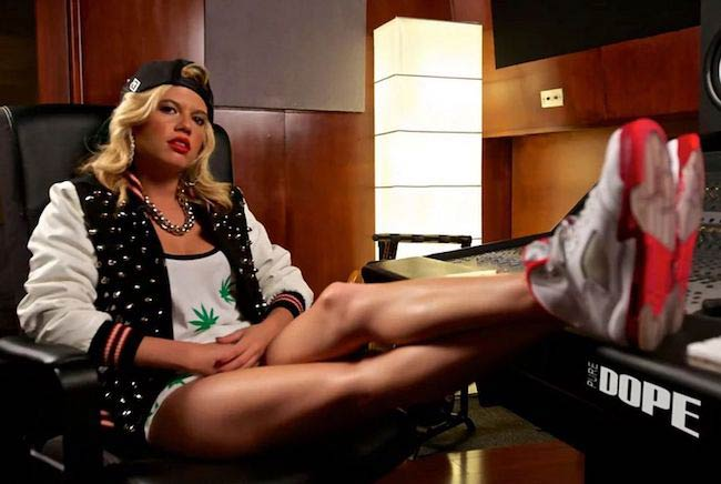 Chanel West Coast during Pure DOPE magazine photoshoot in 2013