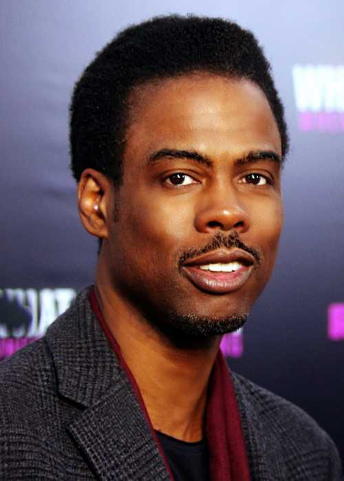 Chris Rock at a Movie Premiere in New York in 2012