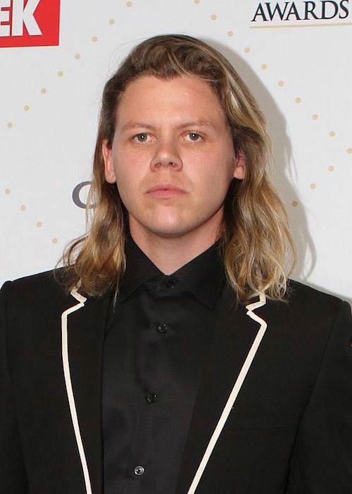 Conrad Sewell at TV Week Logie Awards in 2016