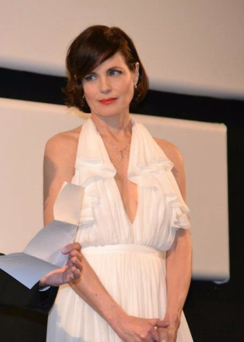 Elizabeth McGovern at the Cannes Film Festival 2012
