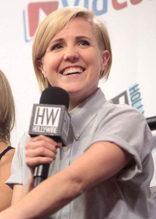 Hannah Hart during 2014 VidCon