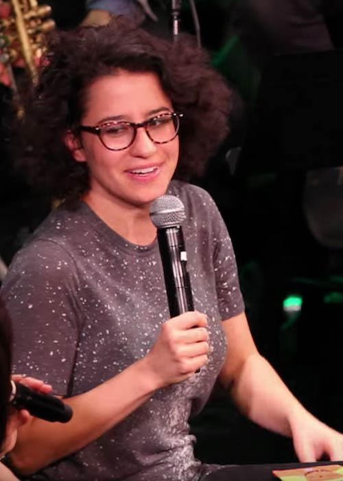 Ilana Glazer during an interview with Catie Lazarus in January 2015
