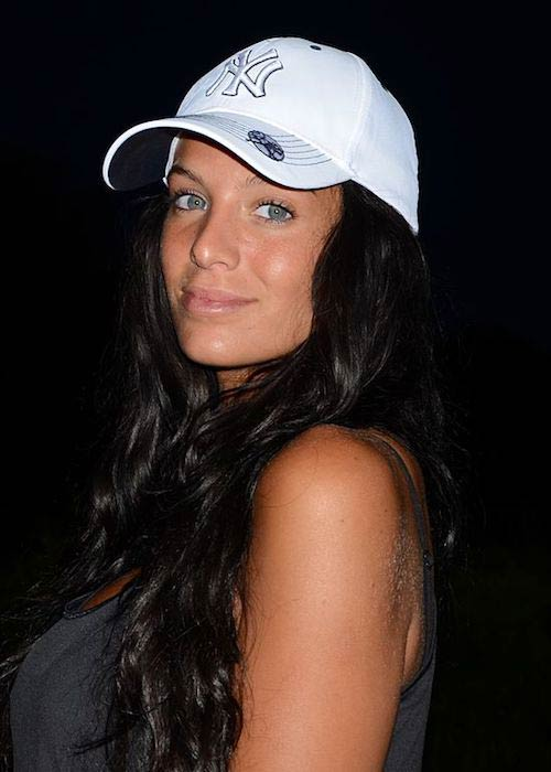 Jade Foret while spending holidays in USA in July 2011