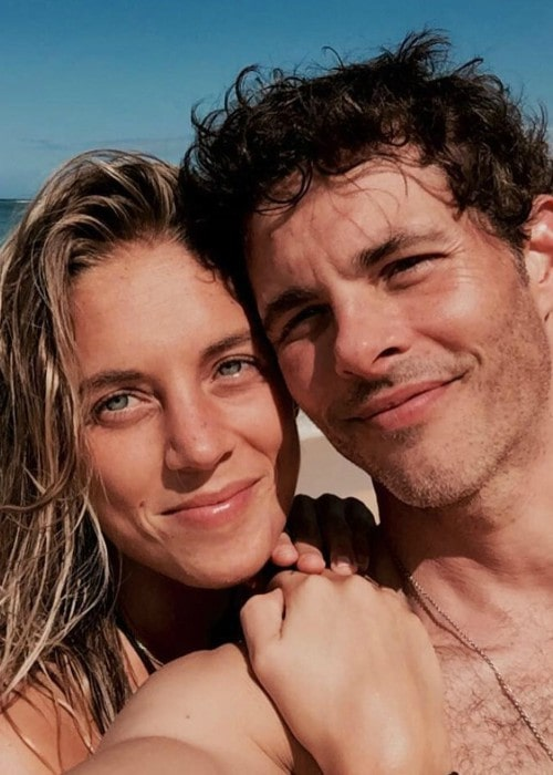 James Marsden and Edei in a selfie as seen in February 2019