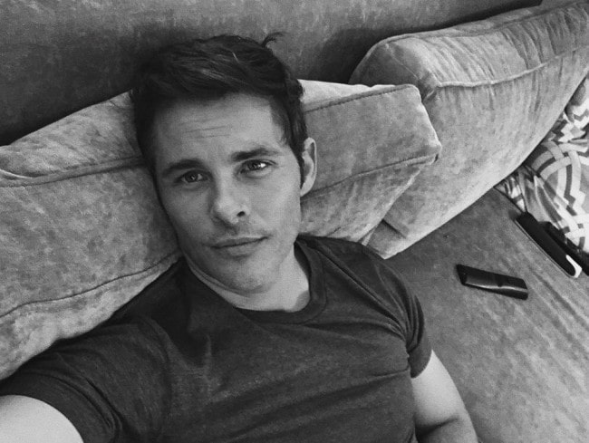 James Marsden in an Instagram selfie as seen in September 2018