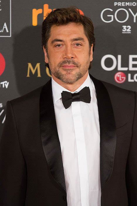 Javier Bardem during the 32nd Goya Awards in 2018
