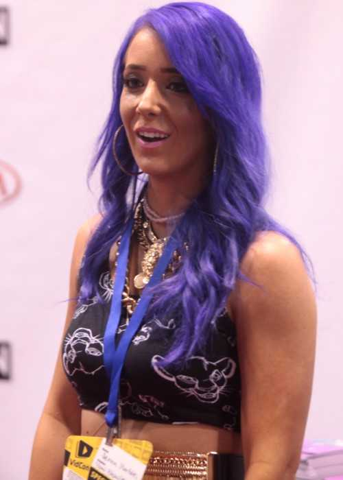 Jenna Marbles at the VidCon in June 2014