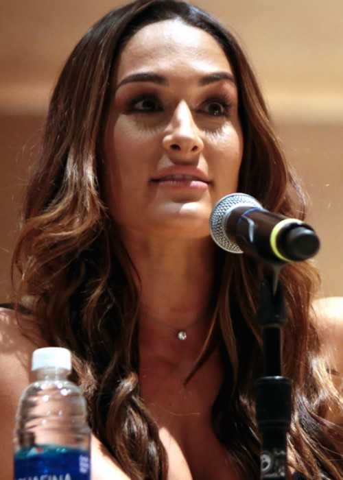 Nikki Bella at the 2016 Phoenix Comicon Fan Fest in Arizona