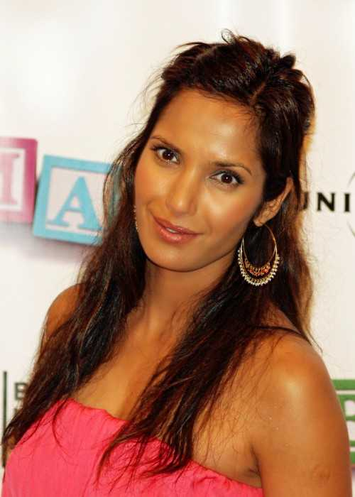 Padma Lakshmi at the Tribeca Film Festival in 2008