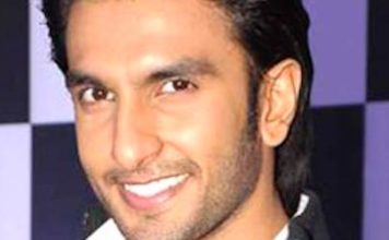 Ranveer Singh during Sahara Star New Year's bash press meet in 2011