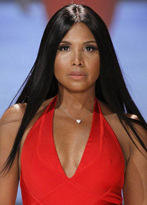 Toni Braxton during The Heart Truth Red Dress Collection Fashion Show in 2013