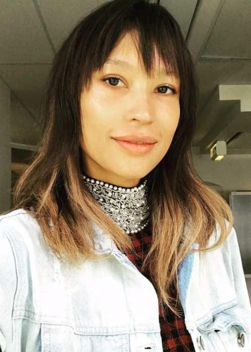 Aino Jawo in an Instagram selfie as seen in June 2017