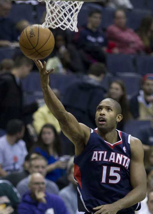 Al Horford Playing for Atlanta Hawks in November 2013