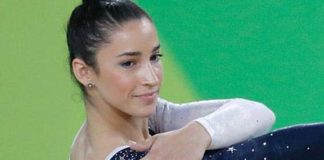 Aly Raisman at Rio Olympics 2016