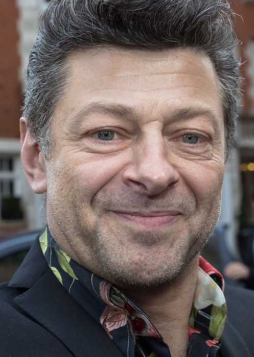 Andy Serkis during the 2015 Empire Awards