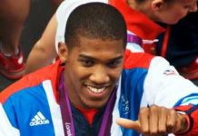 Anthony Joshua Healthy Celeb